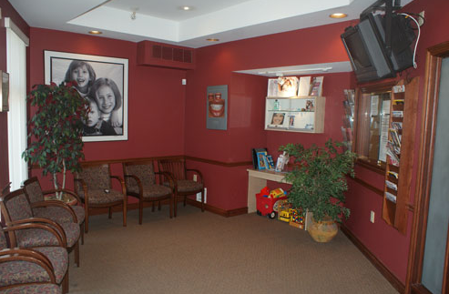 inside dental office